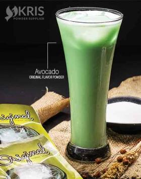 Bubuk minuman avocado kemasan 25 gr Original