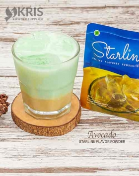 bubuk minuman avocado starlink
