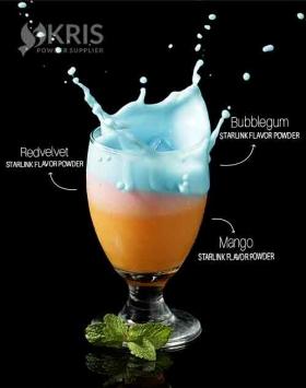 Bubuk minuman bubblegum kemasan 1 kg Starlink
