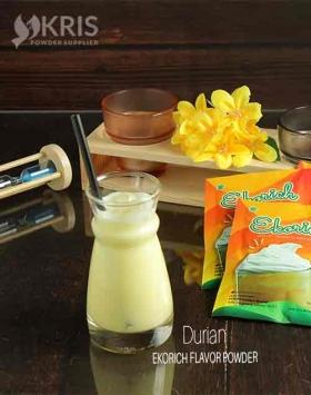 Bubuk minuman durian kemasan 25 gr Ekorich