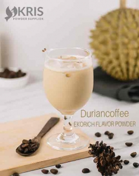Bubuk minuman duriancoffee kemasan 1 kg Ekorich