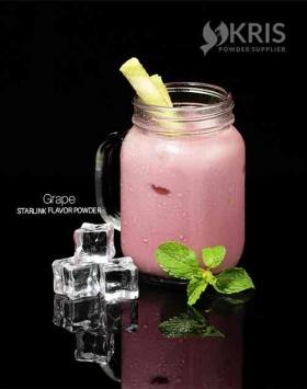 Bubuk minuman grape kemasan 1 kg Starlink KRIS POWDER SUPPLIER diproduksi oleh PT KRIS SUMBER BERKAT