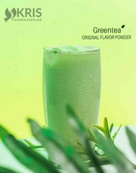 Bubuk minuman greentea kemasan 800 gr Original