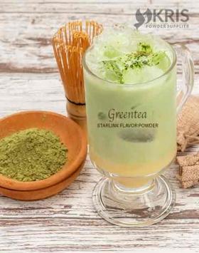 Bubuk minuman greentea kemasan 1 kg Starlink