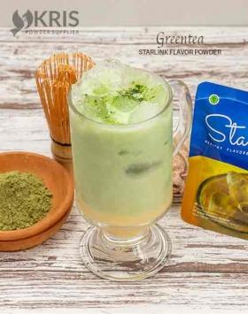 bubuk minuman starlink greentea kemasan 25 gr