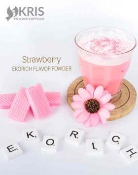 Bubuk minuman strawberry kemasan 1 kg Ekorich