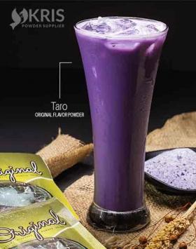 Bubuk minuman taro kemasan 25 gr Original