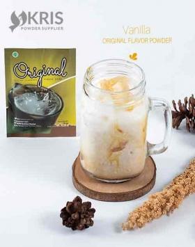 Bubuk minuman vanilla kemasan 25 gr Original