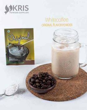 Bubuk minuman whitecoffee kemasan 25 gr Original