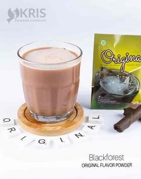 Bubuk minuman blackforest kemasan 25 gr Original