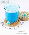 Bubuk minuman bluevelvet kemasan 800 gr Original