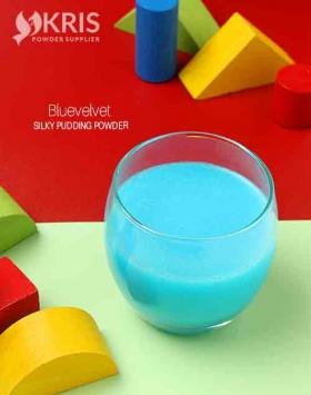 Bubuk pudding bluevelvet silky pudding 650 gr