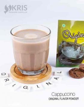 Bubuk minuman cappuccino kemasan 25 gr Original