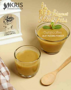 Bubuk pudding duriancoffee silky pudding 650 gr
