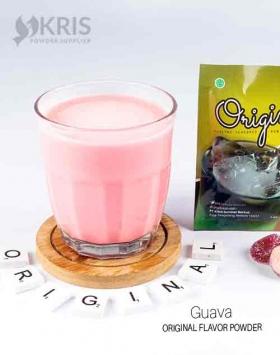Bubuk minuman guava kemasan 25 gr Original