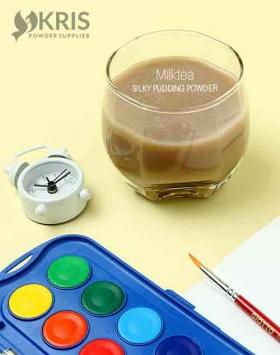 Bubuk pudding milktea silky pudding 650 gr
