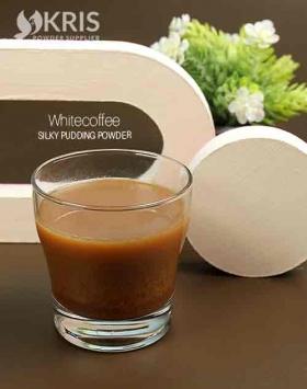 Bubuk pudding whitecoffee silky pudding 650 gr