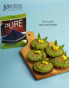 Bubuk perisa avocado kemasan 50 gr Pure