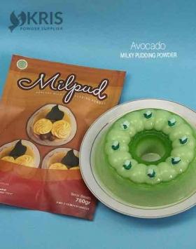 Bubuk pudding avocado kemasan 750 gr Milpud