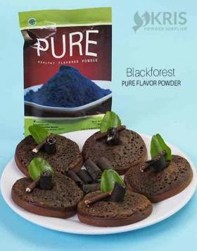 Bubuk perisa blackforest kemasan 50 gr Pure
