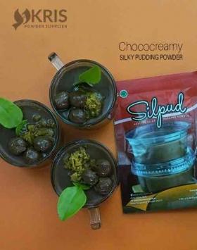 Bubuk pudding chococreamy kemasan 65 gr Silpud