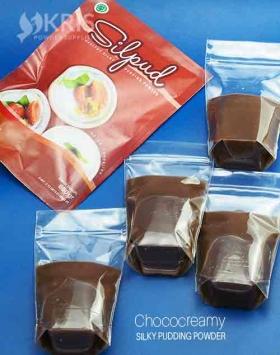 Bubuk pudding chococreamy kemasan 650 gr Silpud