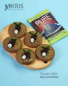 Bubuk perisa duriancoffee kemasan 50 gr Pure