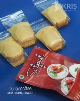Bubuk pudding duriancoffee kemasan 650 gr Silpud