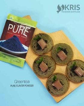 Bubuk perisa greentea kemasan 50 gr Pure