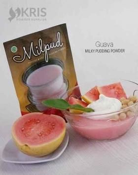 Bubuk pudding guava kemasan 75 gr Milpud