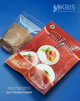 Bubuk pudding mochaccino kemasan 650 gr Silpud