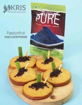 Bubuk perisa passionfruit kemasan 50 gr Pure