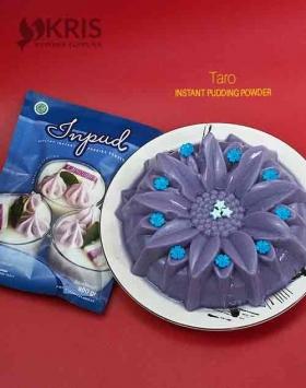 Bubuk pudding taro kemasan 900 gr Inpud