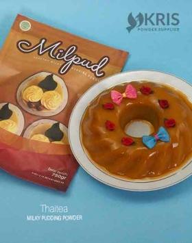 Bubuk pudding thaitea kemasan 750 gr Milpud
