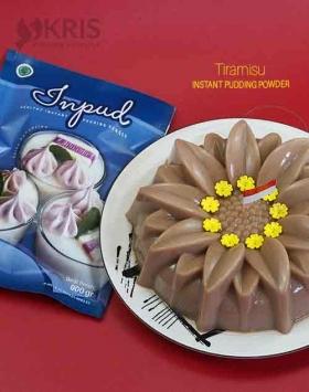 Bubuk pudding tiramisu kemasan 900 gr Inpud