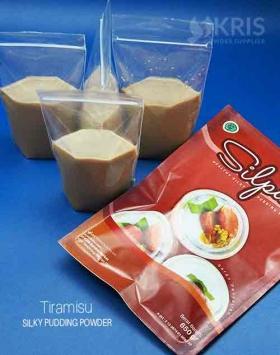 Bubuk pudding tiramisu kemasan 650 gr Silpud