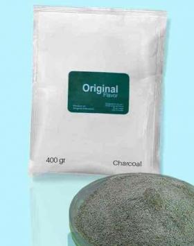 Bubuk minuman charcoal kemasan 400 gr Original