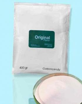Bubuk minuman cottoncandy kemasan 400 gr Original
