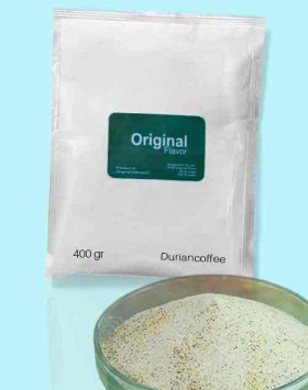 Bubuk minuman duriancoffee kemasan 400 gr Original
