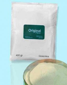 Bubuk minuman greentea kemasan 400 gr Original