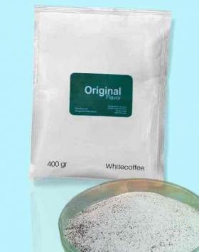 Bubuk minuman whitecoffee kemasan 400 gr Original