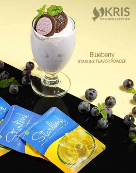Bubuk minuman blueberry starlink 25 gr
