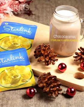 Bubuk minuman chococaramel starlink 25 gr