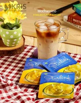 Bubuk minuman mochaccino starlink 25 gr