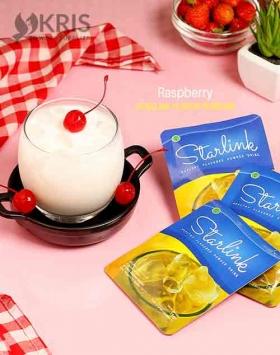 Bubuk minuman raspberry starlink 25 gr