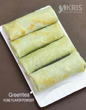 Bubuk perisa greentea kemasan 1000 gr Pure