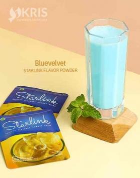 Bubuk minuman bluevelvet starlink 25 gr