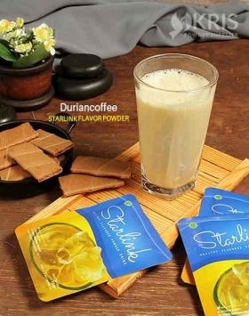 Bubuk minuman duriancoffee starlink 25 gr